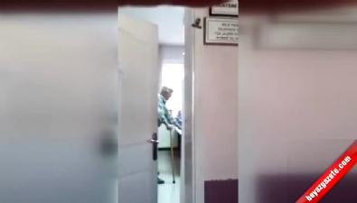 Aile hekiminden yaşlı hastaya azar iddiası