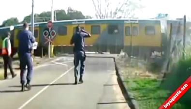 Tren dorseyi böyle biçti