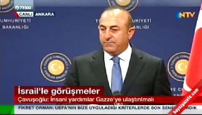 Dışişleri Bakanı Çavuşoğlu'dan İsrail görüşmelerine ilişkin açıklama