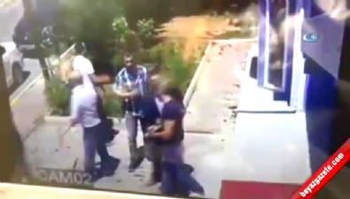 İstanbul'da minibüsçülerin silahlı kavgası kamerada