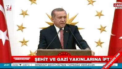 Erdoğan'ın konuşması Hulusi Paşa'yı duygulandırdı