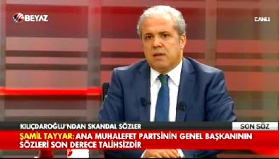 Şamil Tayyar'dan Kemal Kılıçdaroğlu'na: Bizzat kendisidir