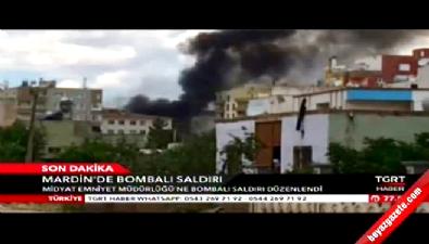 Mardin Midyat'taki bombalı saldırıdan ilk görüntüler