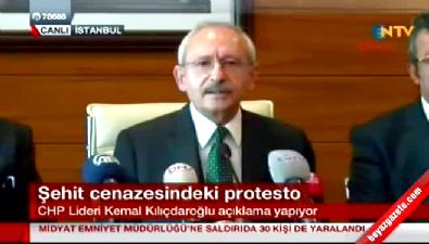 Kılıçdaroğlu cenazede yuhalanmasının ardından basın açıklaması yaptı