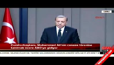 Erdoğan: Merkel'in Katılmaması manidar