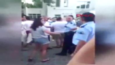 CHP'li vekil Havutça, Bozcaada'da polislerle tartıştı