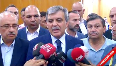 Abdullah Gül: TSK'ya Bu Kara Lekeyi Vuranların Tarih Hiç Unutmayacaktır