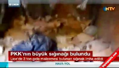 PKK'nın en büyük sığınaklarından biri ele geçirildi