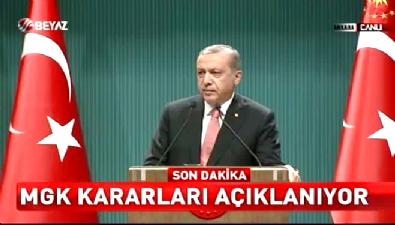 Cumhurbaşkanı Erdoğan: Tüm ülkede 3 ay süreyle OHAL ilan edildi
