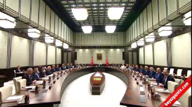 Bakanlar Kurulu toplantısında ilk görüntü