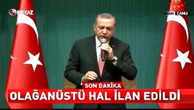Erdoğan demokrasi nobetindeki milyonlara seslendi