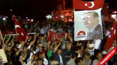 Erciş'te Darbeye Karşı Güç Birliği