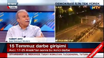 Hanefi Avcı anlattı: Darbe girişimi neden öne alındı?
