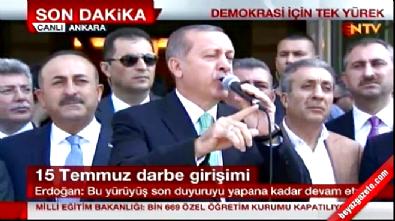 Cumhurbaşkanı Erdoğan Gülen'e 'seviyesiz' dedi