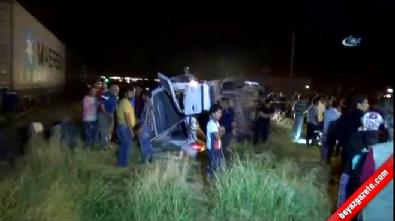 Niğde'de hemzemin geçitte kaza: 5 ölü