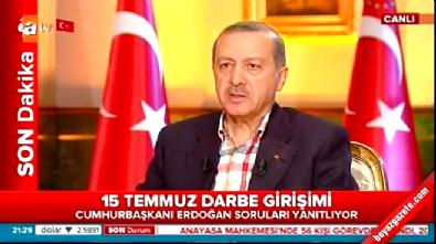 atv - Cumhurbaşkanı Erdoğan: Avrupa'ya demokrasi dersi verdik