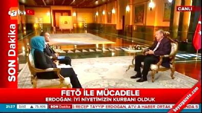 atv - Cumhurbaşkanı Erdoğan: Tutuklu sayısı 10 bin 137, Şehitlerimizin sayısı 237, Yaralılarımızın sayısı 2 bin 191