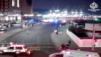 suudi Arabistan düzenlenen intihar saldırılarının ardından ilk görüntüler