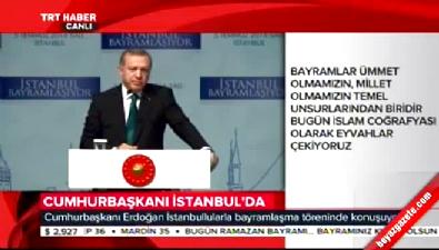 Cumhurbaşkanı Erdoğan: 3 bela ile karşı karşıyayız...