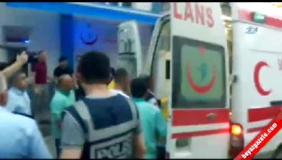 Helikopter Kazasında Yaralananlar Hastaneye Getirildi