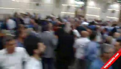 Meral Akşener'in bayramlaşma yaptığı otelde arbede