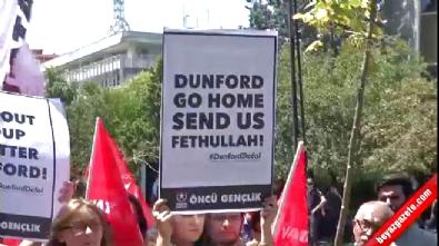 ABD'nin Ankara Büyükelçiliği önünde protesto