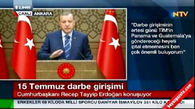 Cumhurbaşkanı Erdoğan'dan FETÖ'cüleri ifşa edin çağrısı