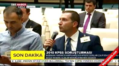 Numan Kurtulmuş 2010 KPSS hakkında alınan kararı açıkladı