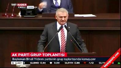 Başbakan Binali Yıldırım AK Parti Grup Toplantısı'nda konuştu...