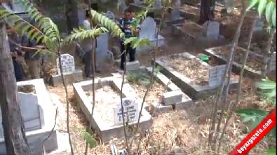 Üniversiteli kız iki günlük bebeğini babasının mezarına gömerek öldürdü