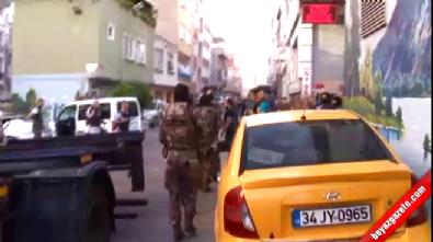İstanbul'da devriye atan polise saldırı