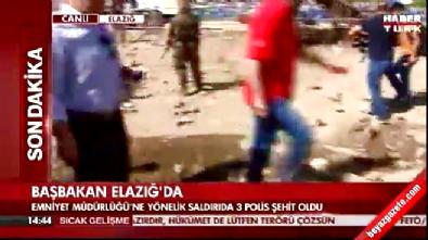 Başbakan Elazığ'da incelemelerde bulundu