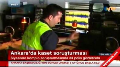deniz baykal - Ankara'da 'kaset' operasyonu