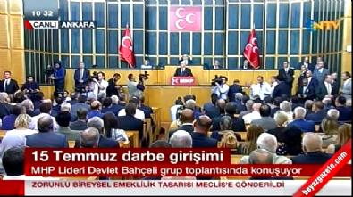 Devlet Bahçeli: Az kalsın Türkiye işgal ve imha edilecekti