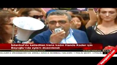 PKK cenezesine giden CHP'li Sezgin Tanrıkulu (LGBT) trans eylemine katıldı