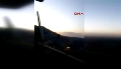 İşte Tunceli'ye sızmaya çalışan PKK'lılarla çatışma anı görüntüleri