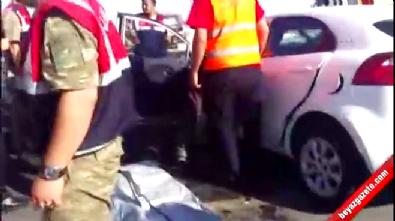 İki araç kafa kafaya çarpıştı: 2 ölü, 2 yaralı