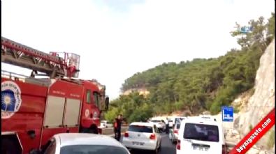 Antalya Kemer'de askeri araca saldırı: 2 yaralı