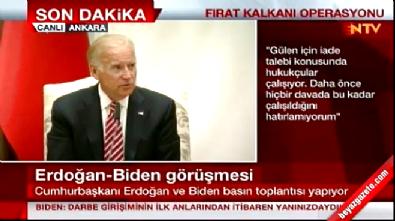 Joe Biden: Gülen'i korumak için sebebimiz yok