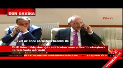Kemal Kılıçdaroğlu, Cumhurbaşkanı Erdoğan'la telefonda görüştü
