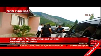 Kılıçdaroğlu'nun saldırı sonrası panzerdeki görüntüleri
