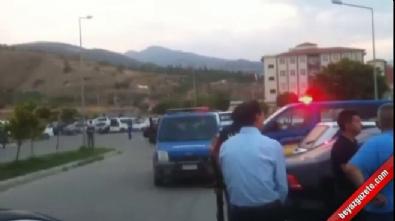 silahli kavga - Manisa'da silahlı kavga: 2 ölü, 1'i polis 3 yaralı