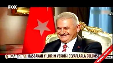 Başbakan Binali Yıldırım'dan Hande Fırat'a güldüren cevaplar