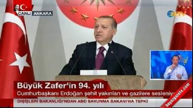 Cumhurbaşkanı Erdoğan şehit ve gazi yakınlarına seslendi...