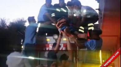 Cinnet getiren polis ailesine kurşun yağdırdı