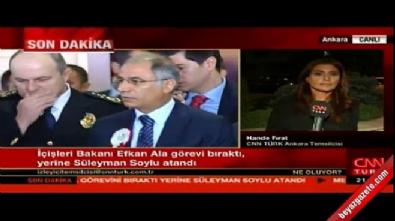 Hande Fırat: Efkan Ala istifa etmedi, görevden alındı