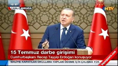 Cumhurbaşkanı Erdoğan: Bre dangalak!