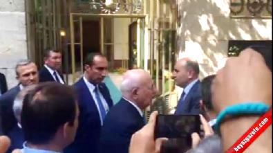 Hulusi Akar'dan Meclis Başkanı İsmail Kahraman'a ziyaret