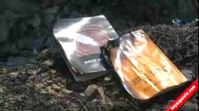 FETÖ'cüler Gülen'in kitaplarını yakarken ormanı yaktı