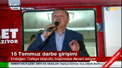 Erdoğan: Tüm Türkiye yarın Yenikapı'da olacak